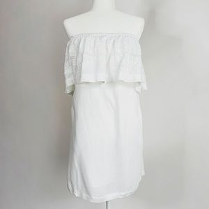 L*Space Embroidered Cover-Up Mini Dress